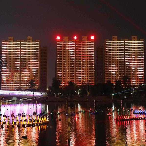 樓宇燈飾燈光亮化工程