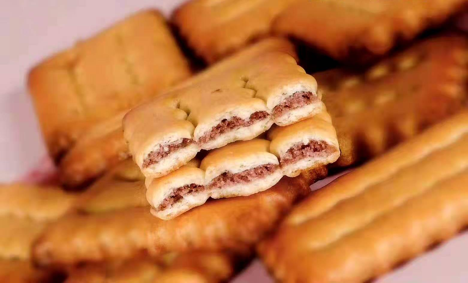 紅豆夾層餅干