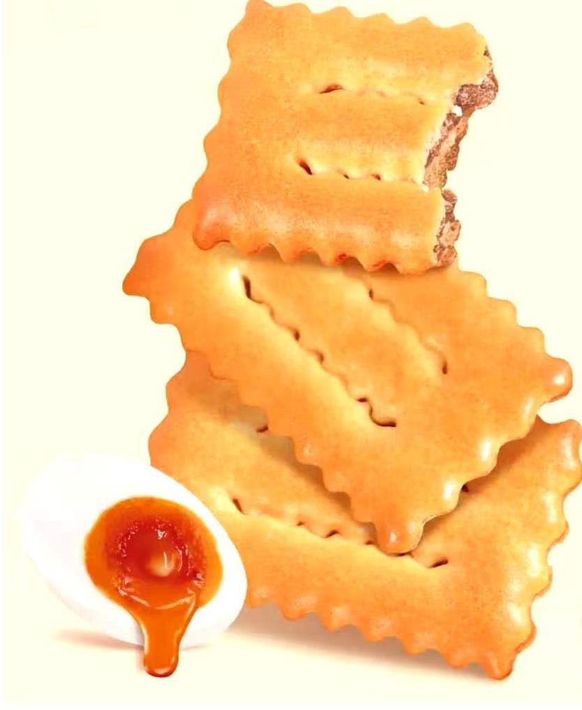 咸蛋黃夾層餅干