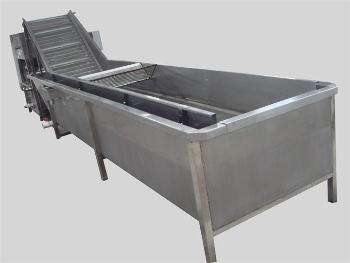滚筒式平面五金清洗机