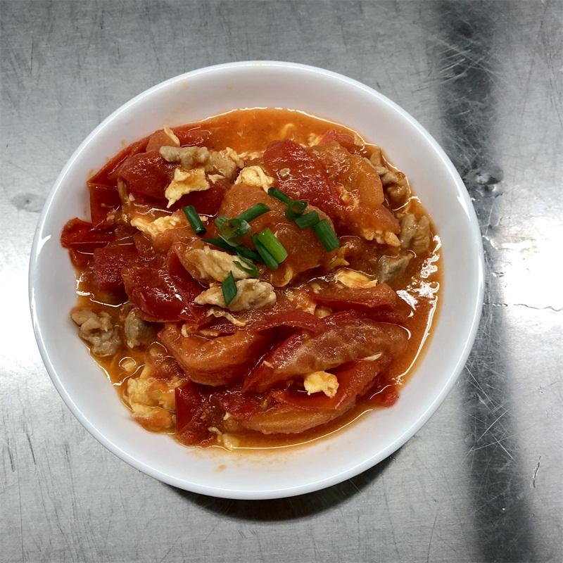 蕃茄肉碎炒蛋