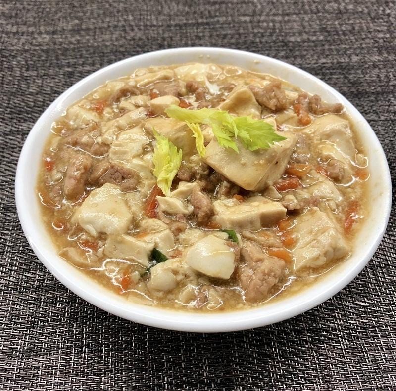 肉粒煮豆腐