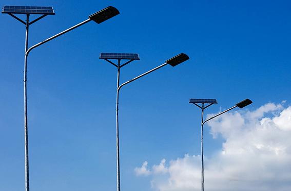 天氣對太陽能路燈的影響