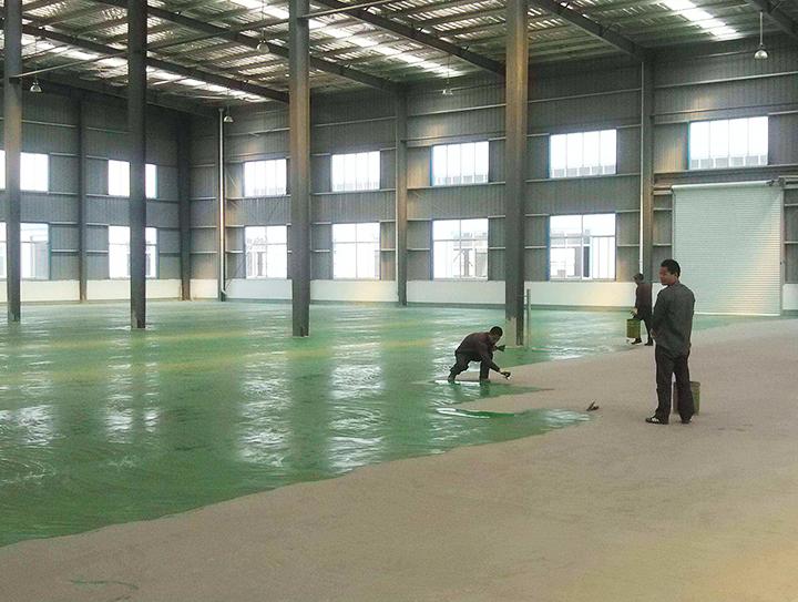 江门市新会区司前地坪漆工程