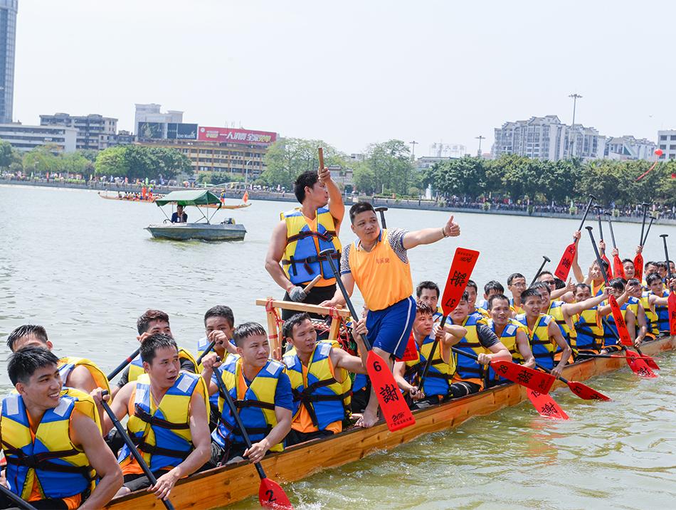 2018年广东省传统龙舟公开赛暨高要区金利龙舟大赛