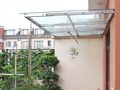 PET雨棚板案例