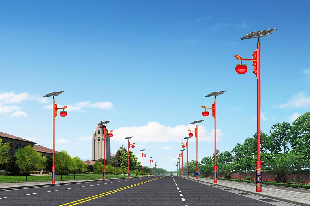 新能源太阳能路灯逐渐替代原始照明产品