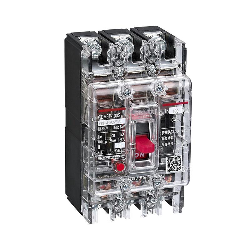 CDM3T系列熱磁式透明塑料外殼式斷路器