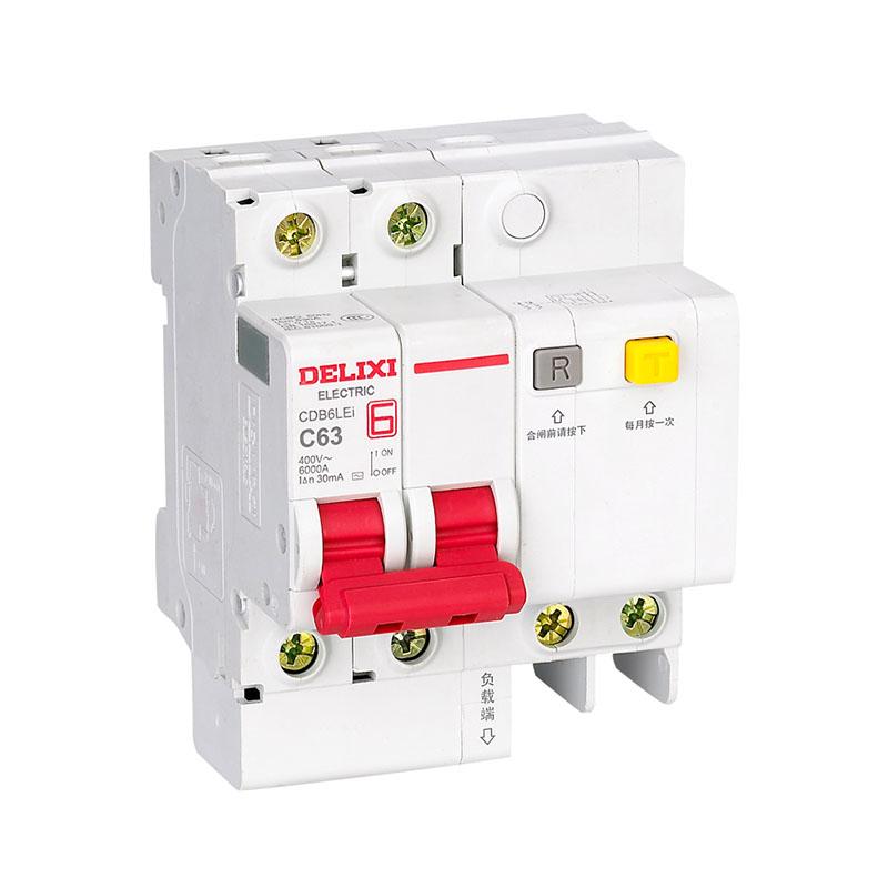 CDB6LEi小型剩余電流動作斷路器