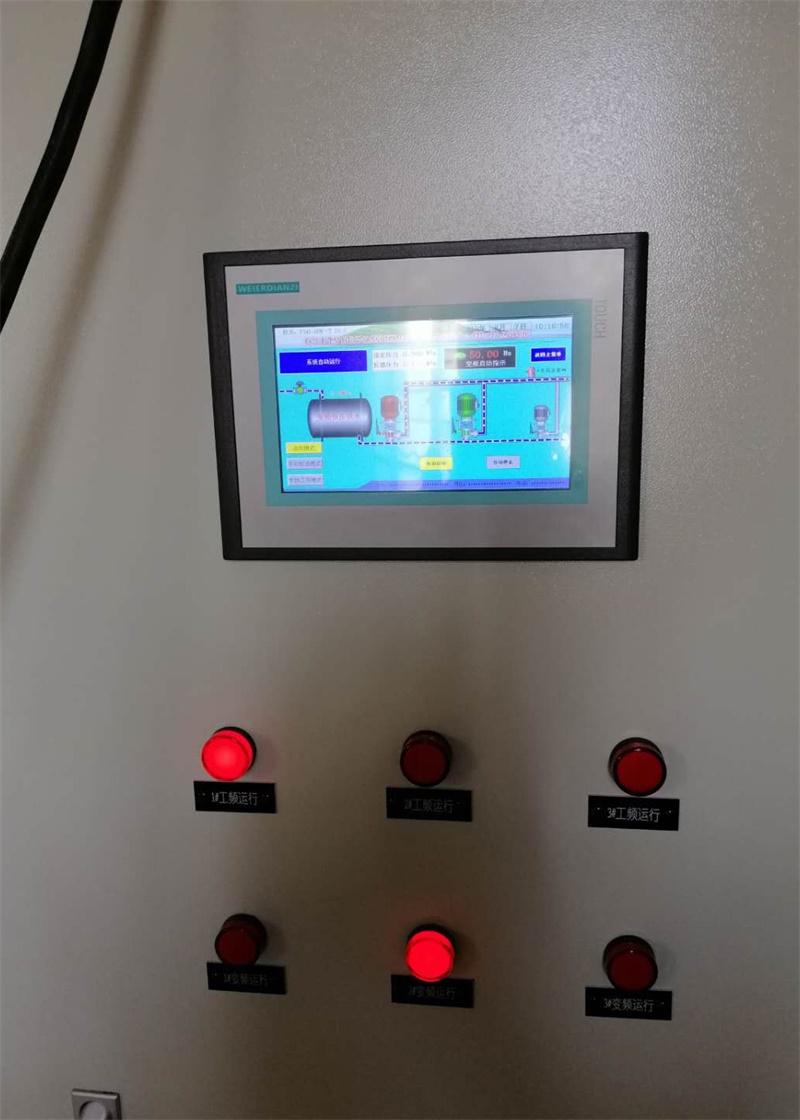 生活用水恒壓變頻控制柜