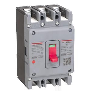 德力西CDM3低壓塑殼斷路器