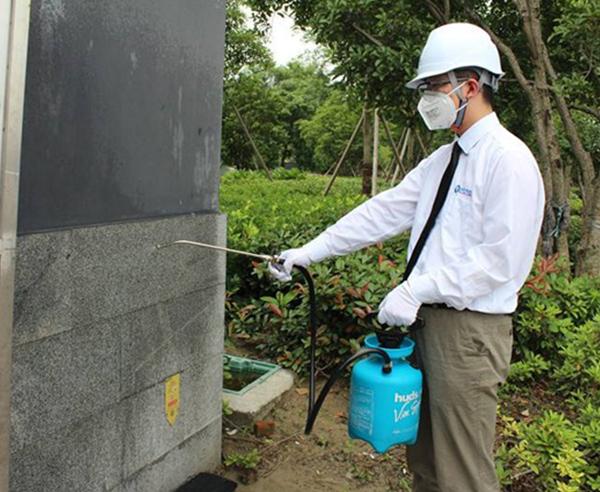 公共環境、政府機關蟲害防治
