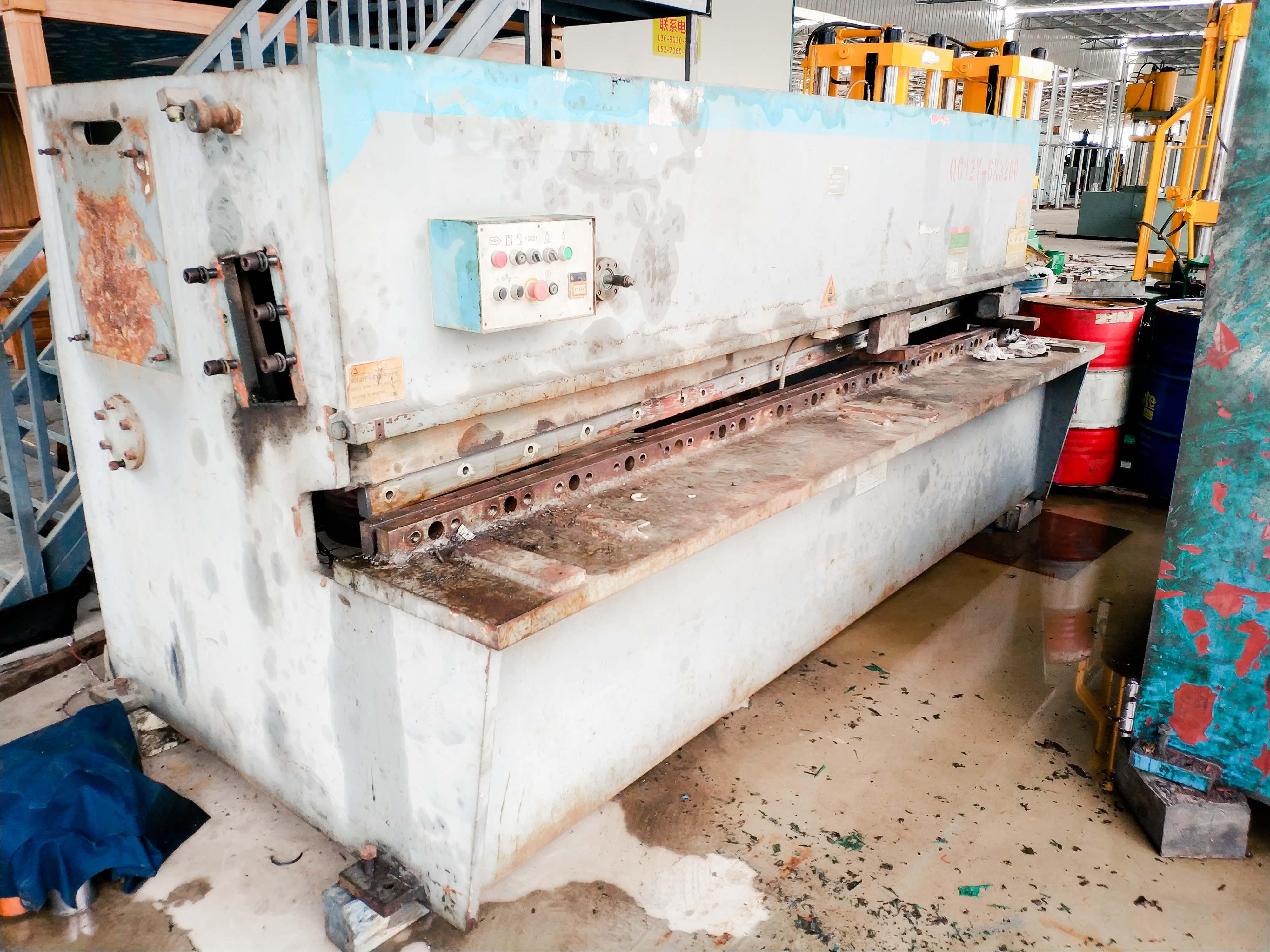 液压摆式剪板机(二手)